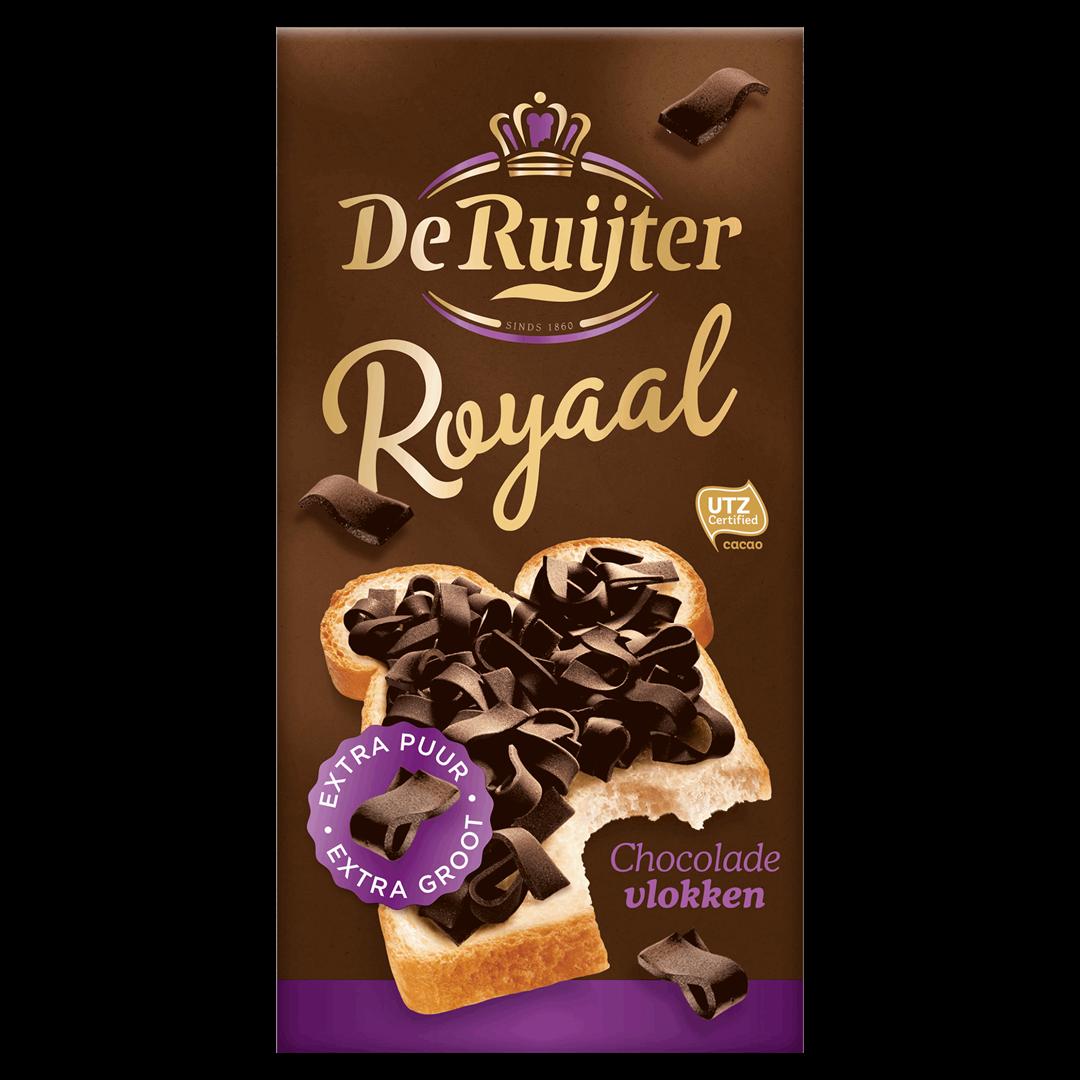 Productafbeelding De Ruijter Chocoladevlokken Royaal 300 g Doos