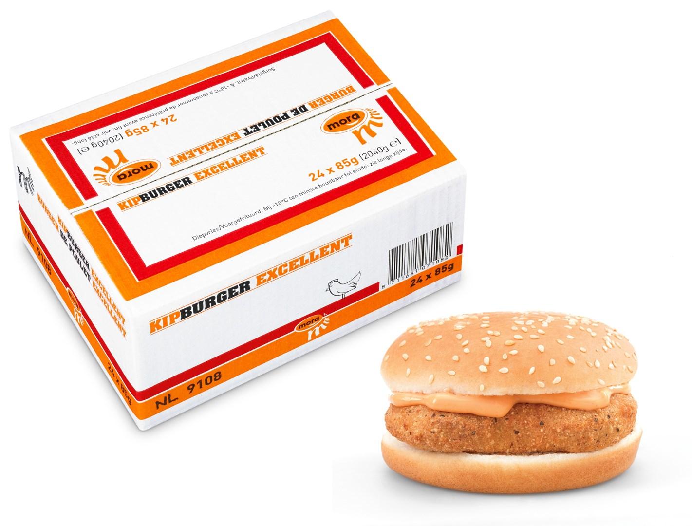 Productafbeelding Mora Kipburger Excellent 24 x 85 gram