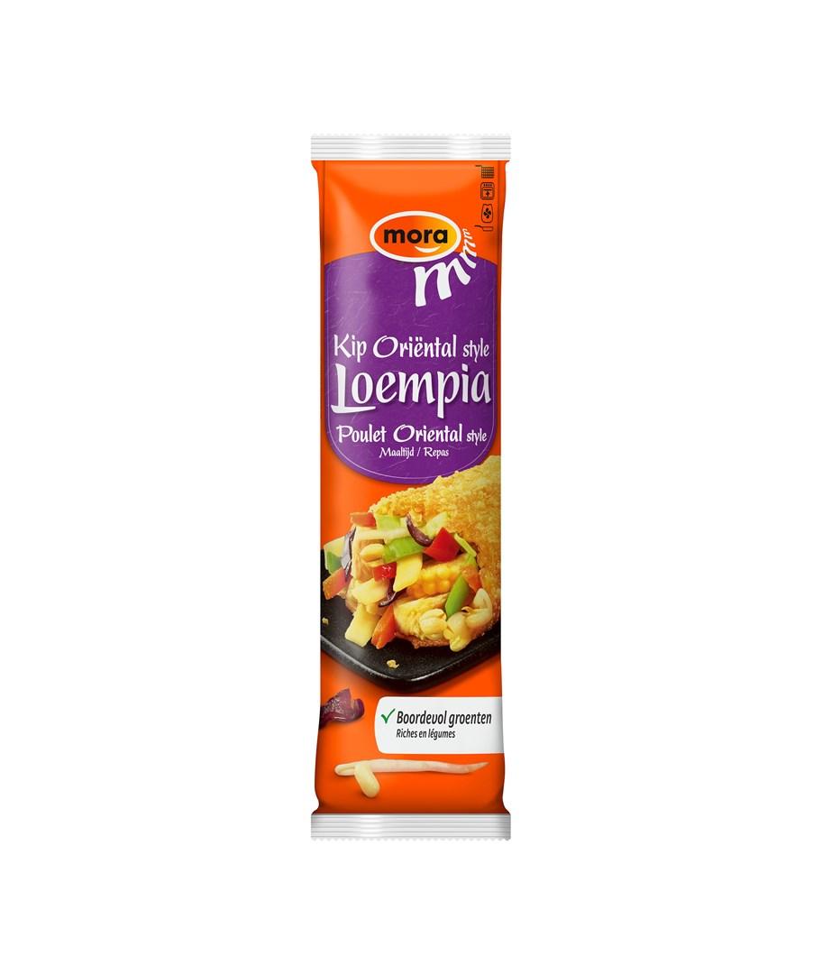 Productafbeelding 9298 - 9184 Kip Oriëntal Loempia maaltijd 12x150g