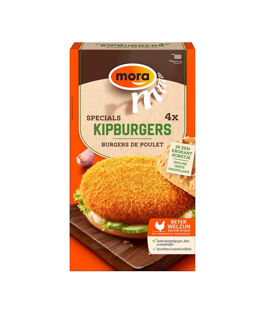 Productafbeelding 9345 Kipburger 4x70g