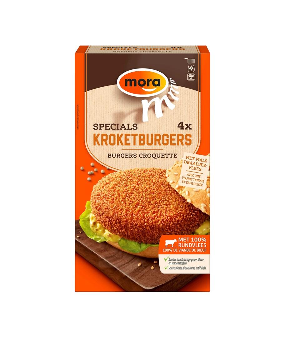 Productafbeelding 9346 Kroketburger 4x80g
