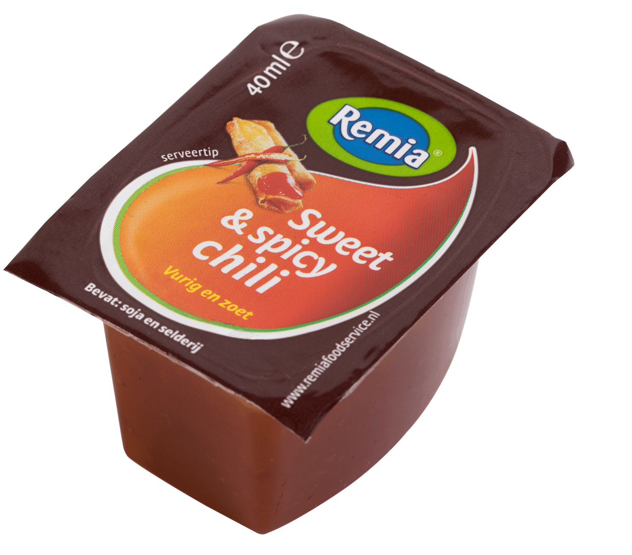 Productafbeelding Remia Sweet & Spicy Chili | Cups 54 x 40 ML