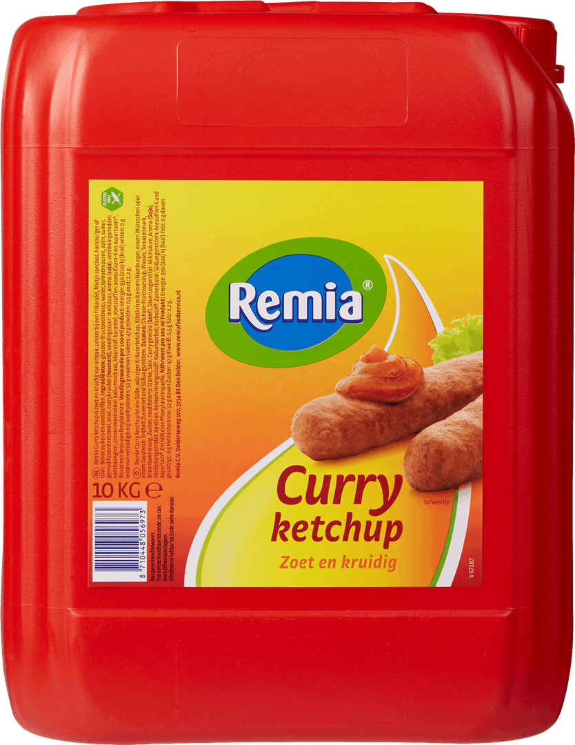 Productafbeelding Remia Curry Ketchup   Can 10 KG