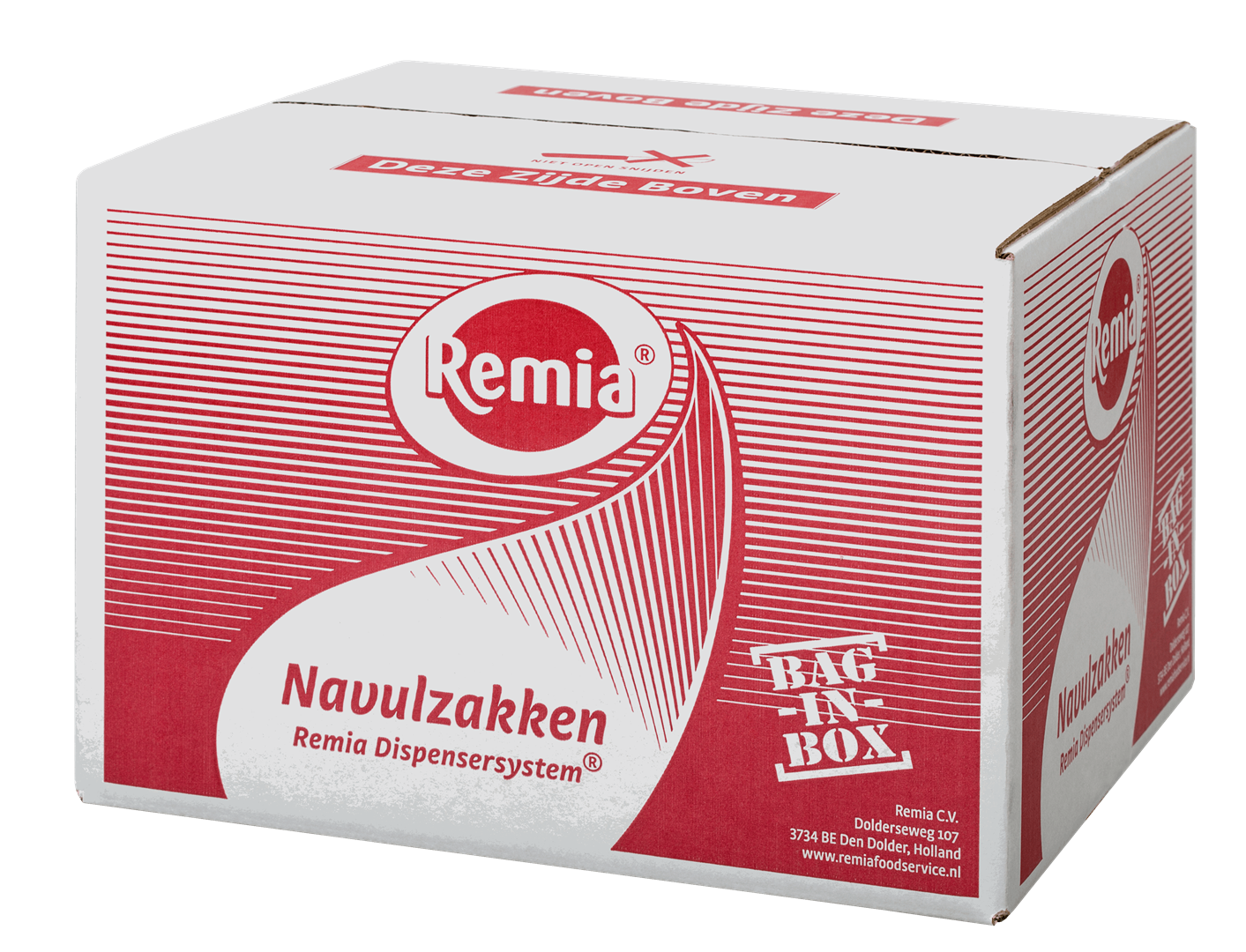 Productafbeelding Remia Curry Ketchup   Bag-in-Box 2 x 7,5 KG