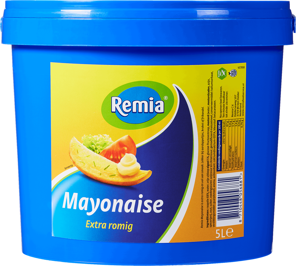 Productafbeelding Remia Mayonaise Extra Romig | Emmer 5 L