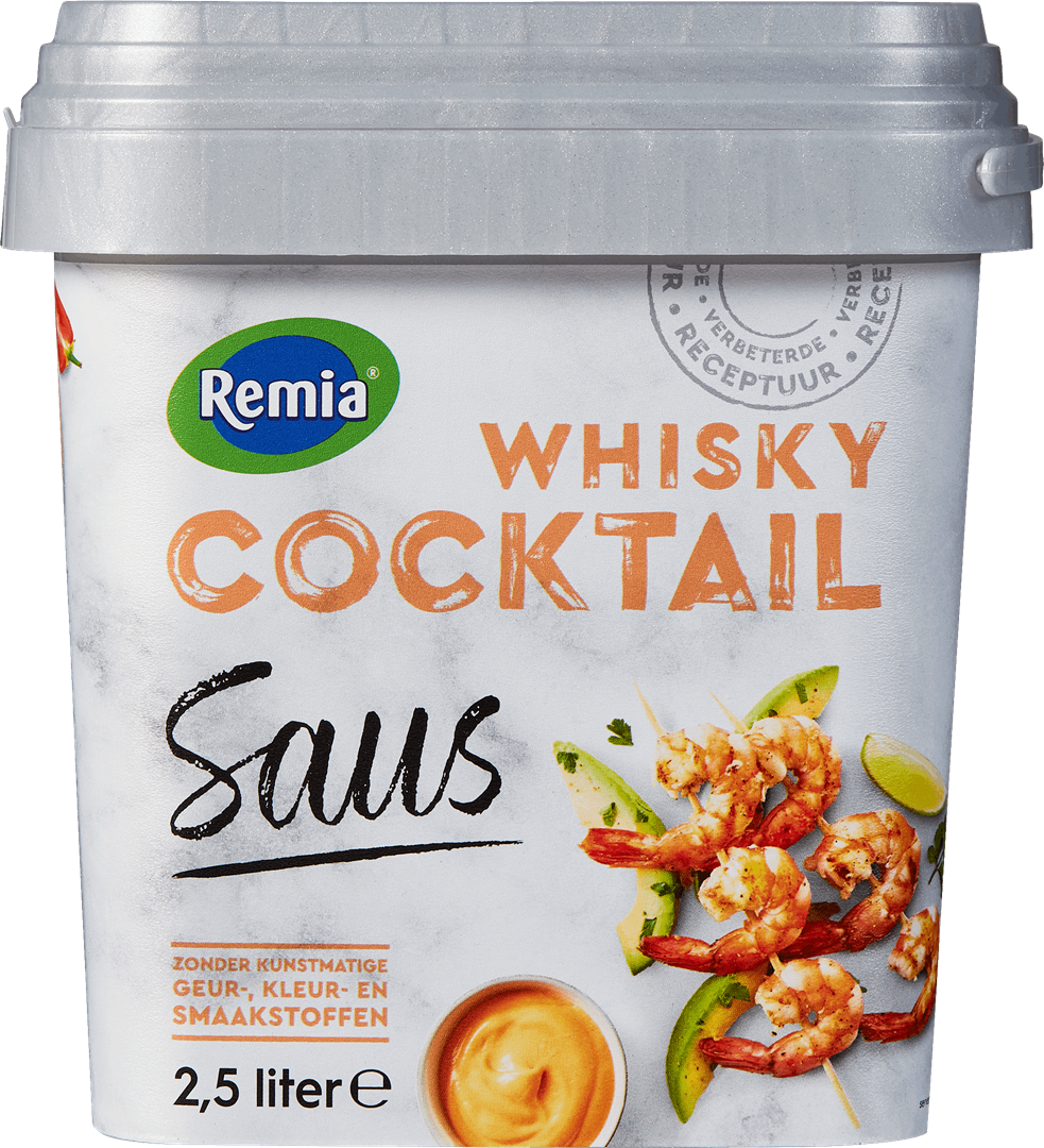 Productafbeelding Remia Whisky-Cocktail Saus   Emmer 2,5 L