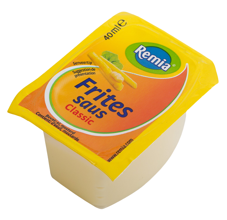 Productafbeelding Remia Fritessaus   Cups 54 x 40 ML