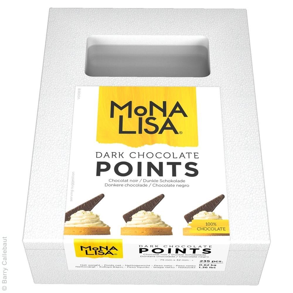Productafbeelding Mona Lisa donkere chocoladepunten - doos 235 stuks