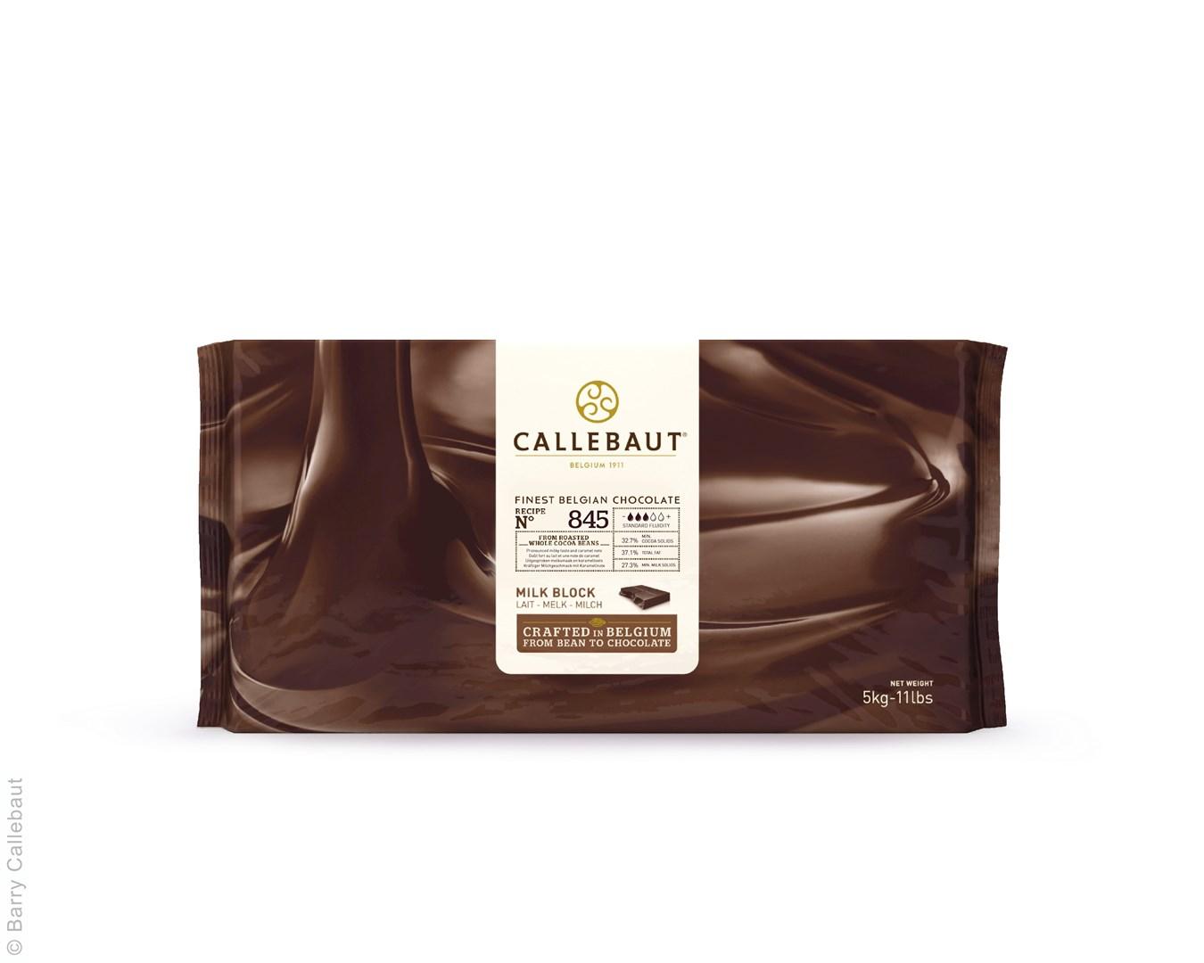 Productafbeelding Callebaut melkchocolade - 845NV - Block 5 kg (32,7%)