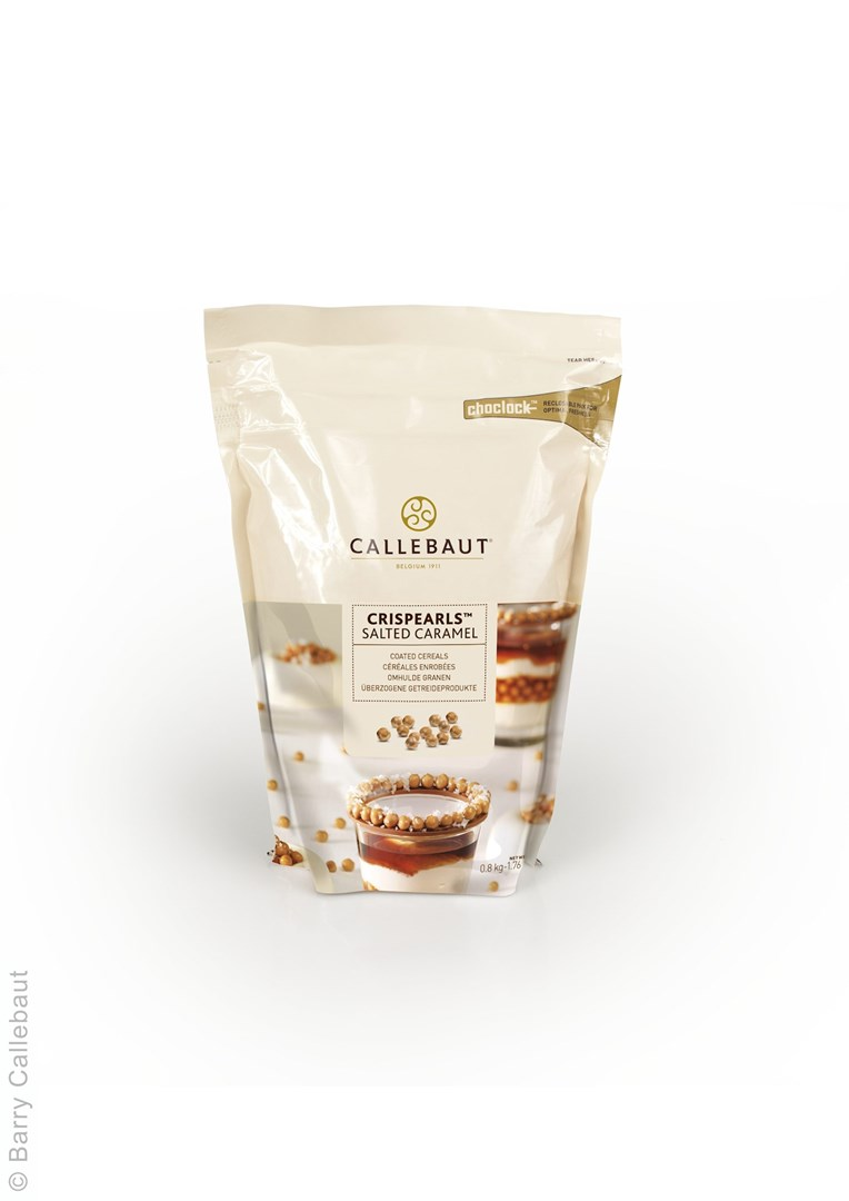 Productafbeelding Callebaut Crispearls Salted Caramel - zak 800 g
