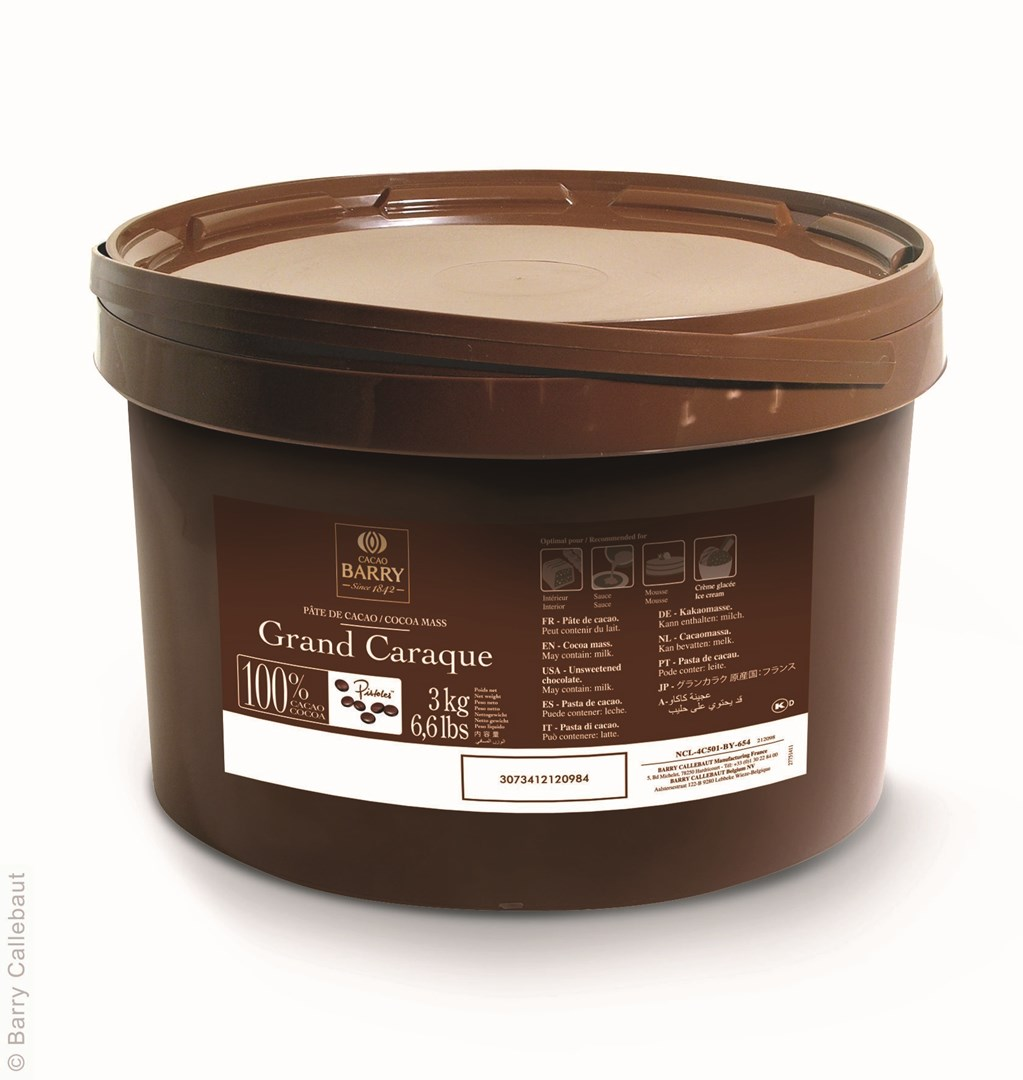 Productafbeelding Cacao Barry Cacaomassa - Grand Caraque - emmer 3 kg