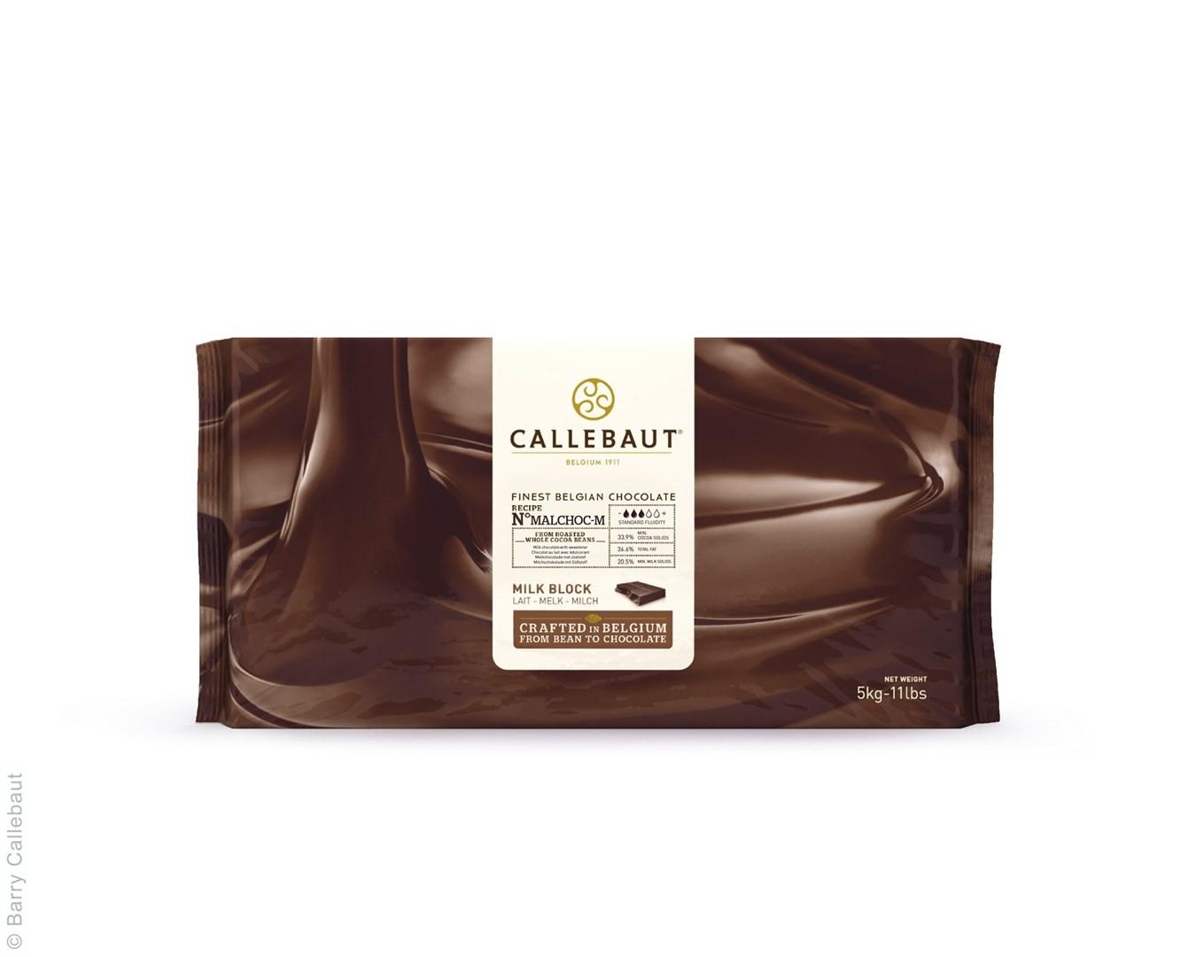 Productafbeelding Callebaut Malchoc Melkchocolade - blok 5 kg (33,9%)