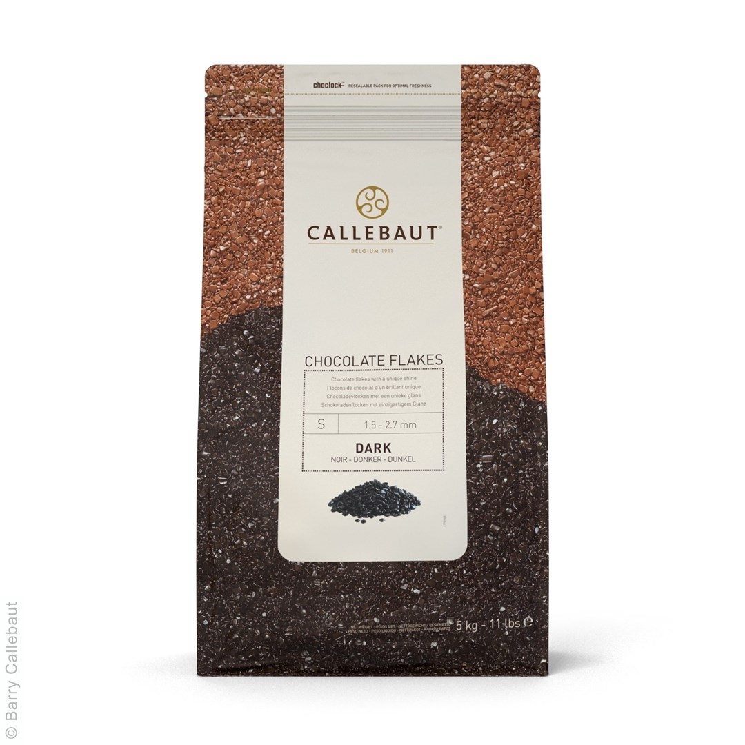 Productafbeelding Callebaut Chocolate Flakes - Donker - Small - zak 5 kg