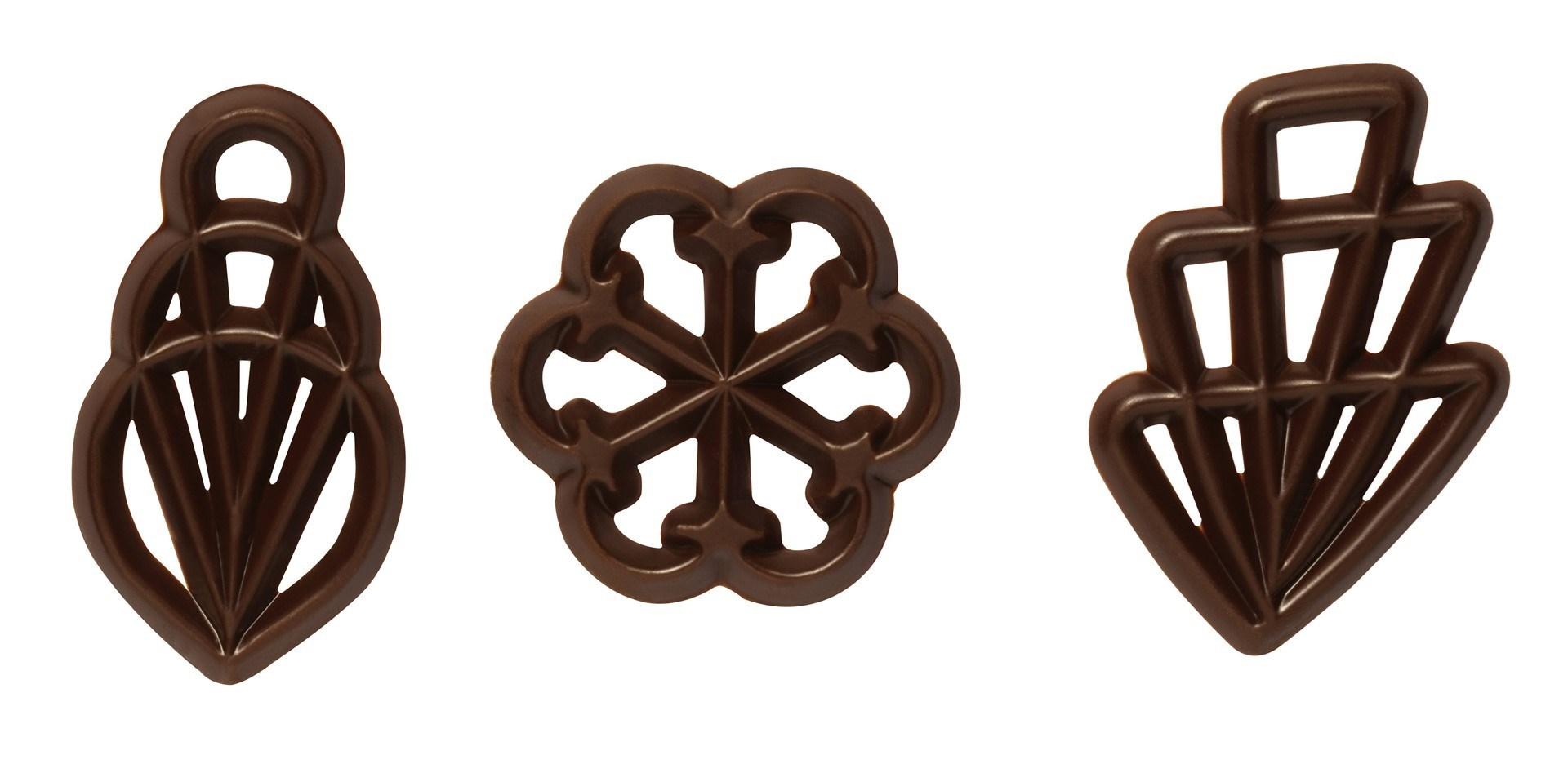 Productafbeelding Mona Lisa Filigrans - donkere chocolade - 550st