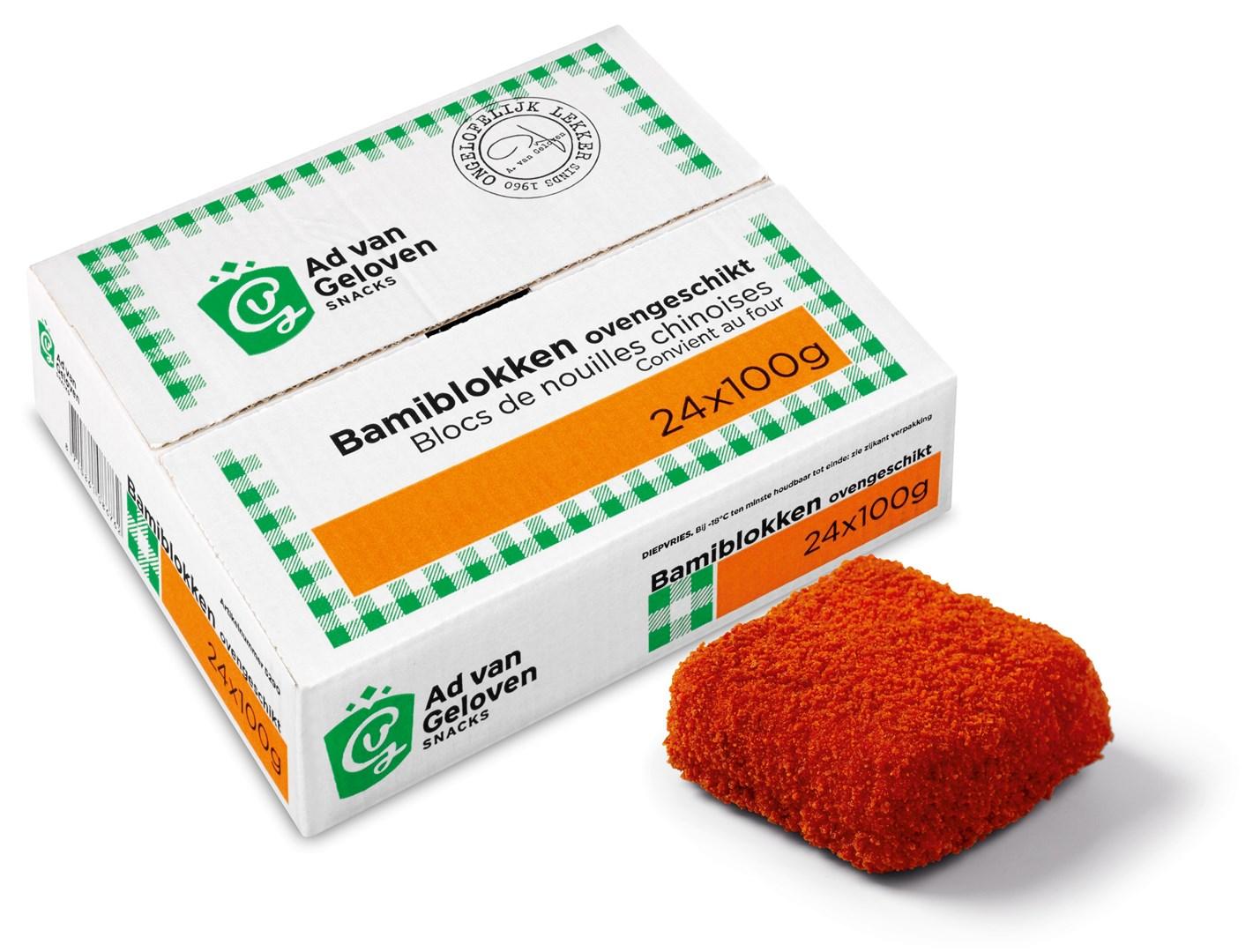 Productafbeelding Ad van Geloven Bami Blokken 24 x 100 gram