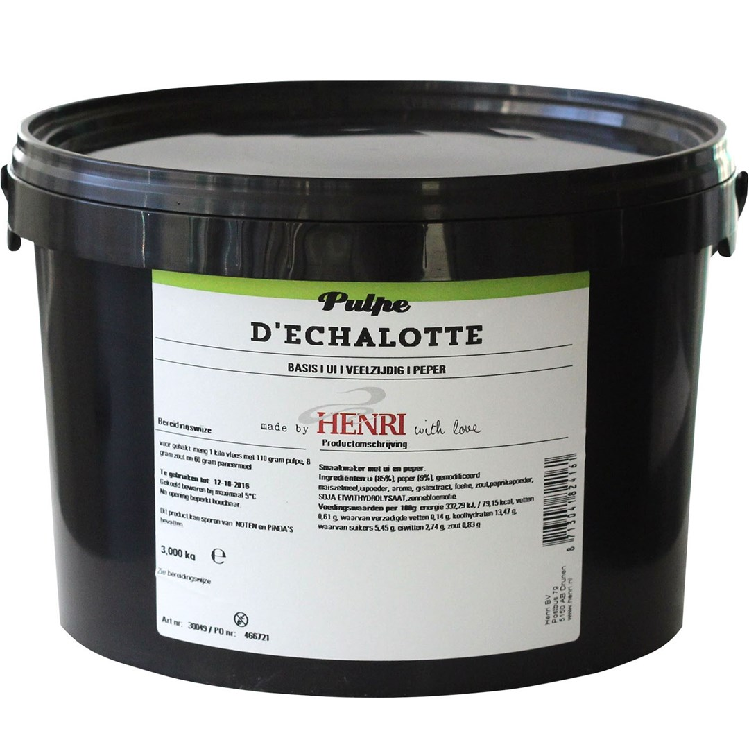 Productafbeelding Pulpe d'echalotte
