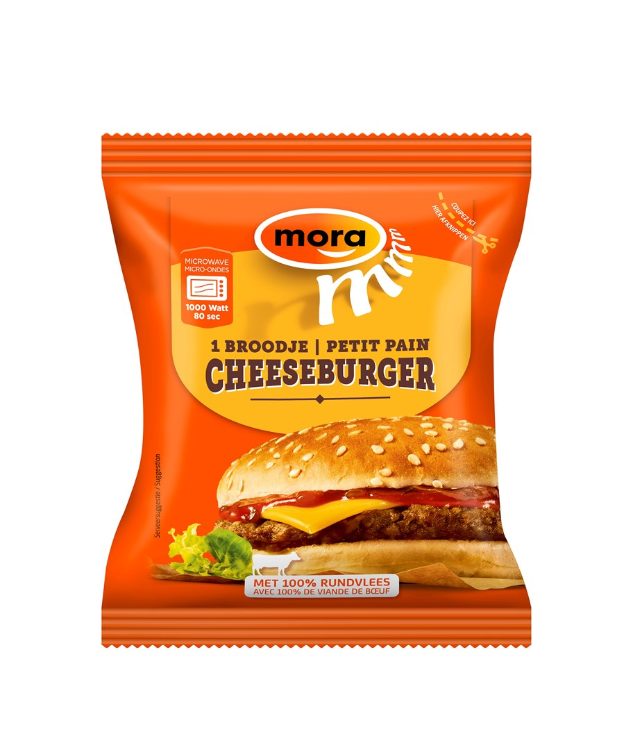 Productafbeelding 8501 Broodje Cheeseburger 10x130g