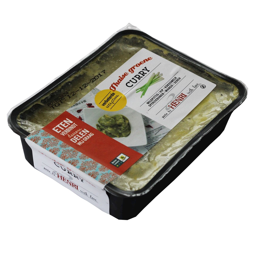 Productafbeelding Thaise groene curry 1*BLK