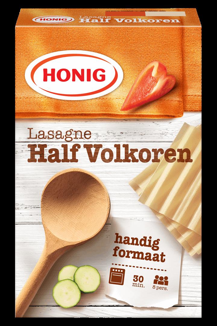 Productafbeelding Honig Lasagne Half Volkoren 250 g Doos