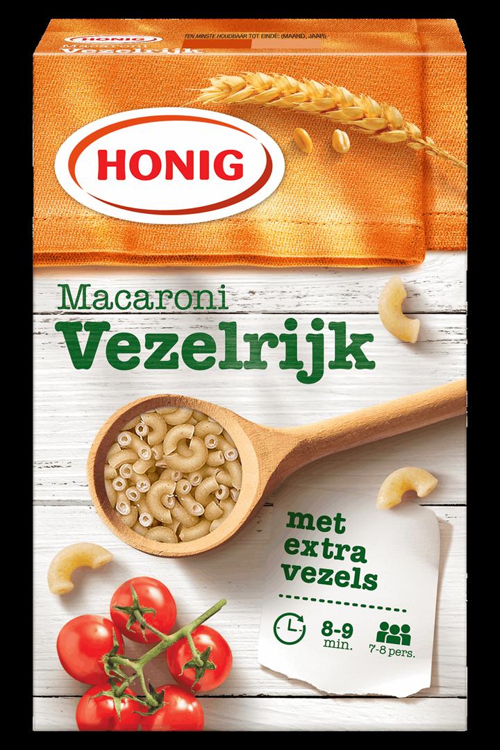 Productafbeelding Honig Macaroni Vezelrijk 550 g Doos
