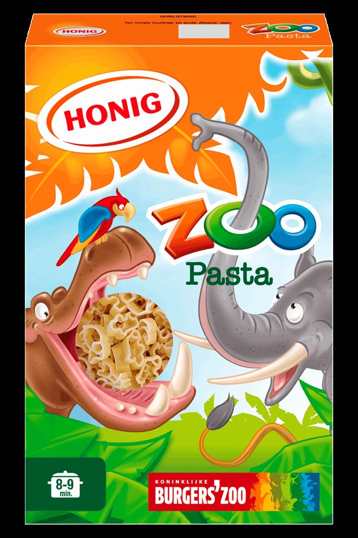 Productafbeelding Honig Pasta Zoo 350 g Doos