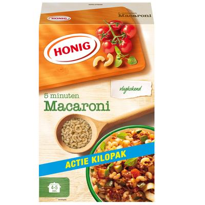 Productafbeelding Honig Deegwaar Macaroni Vlugkokend 1000 g Doos