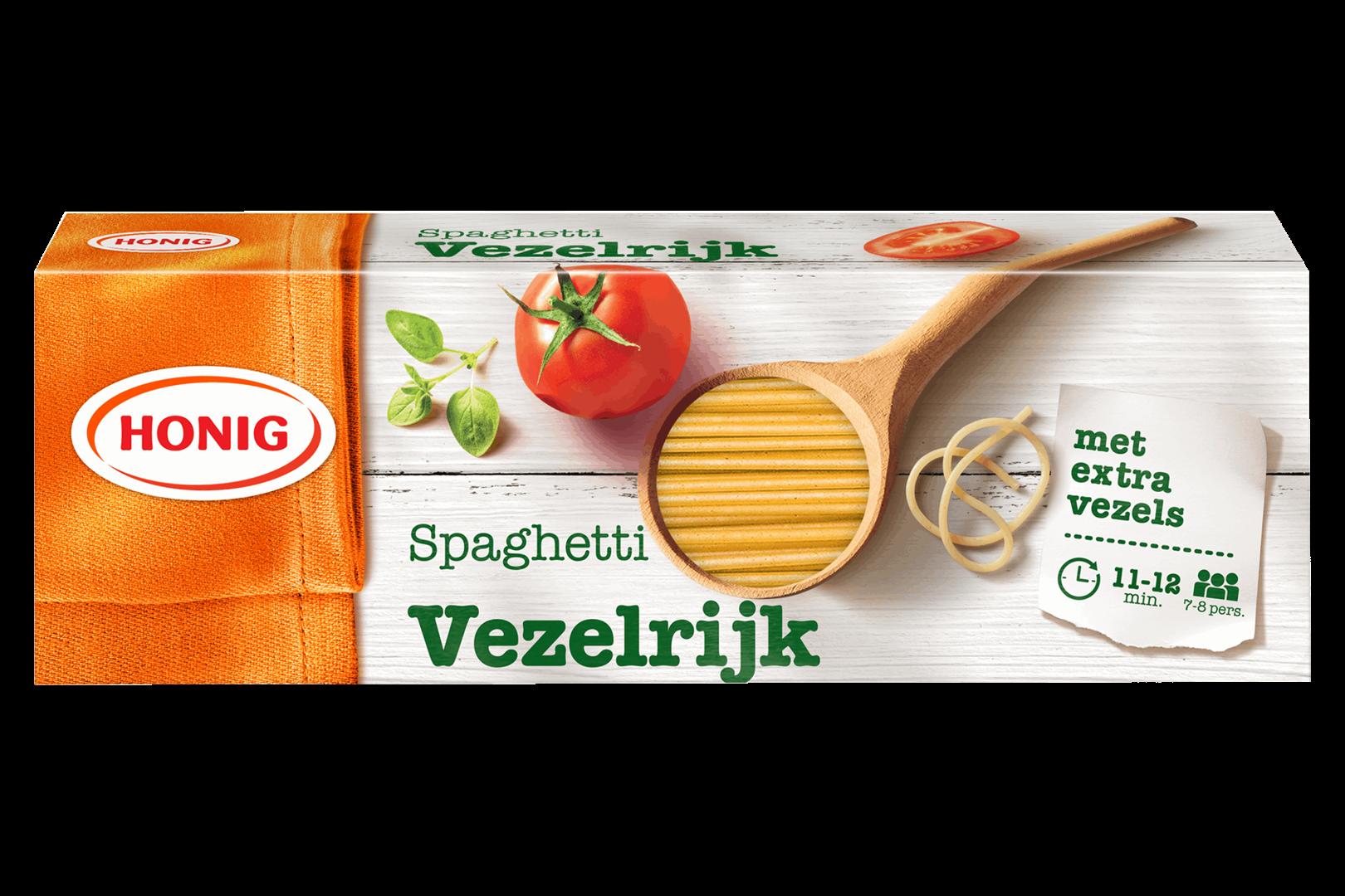 Productafbeelding Honig Deegwaar Spaghetti Vezelrijk 550 g Doos