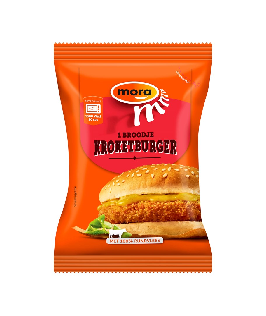 Productafbeelding 8502 Broodje Kroketburger 10x150g
