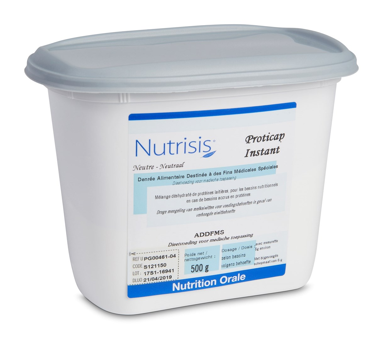 Productafbeelding Nutrisis Proticap 500g
