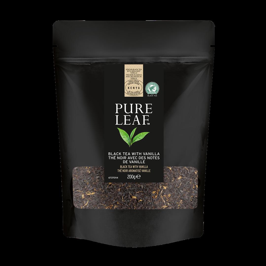 Productafbeelding Pure Leaf Black Vanilla 200g 4x