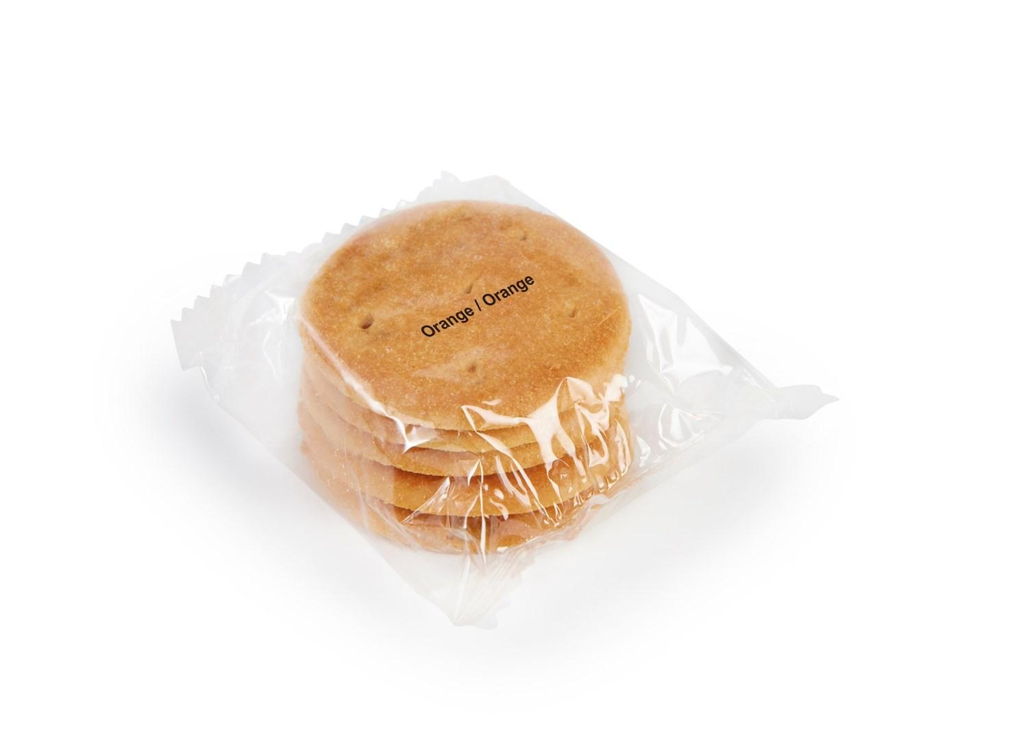 Productafbeelding Nutrisis Biscuits sinaasappel sachet