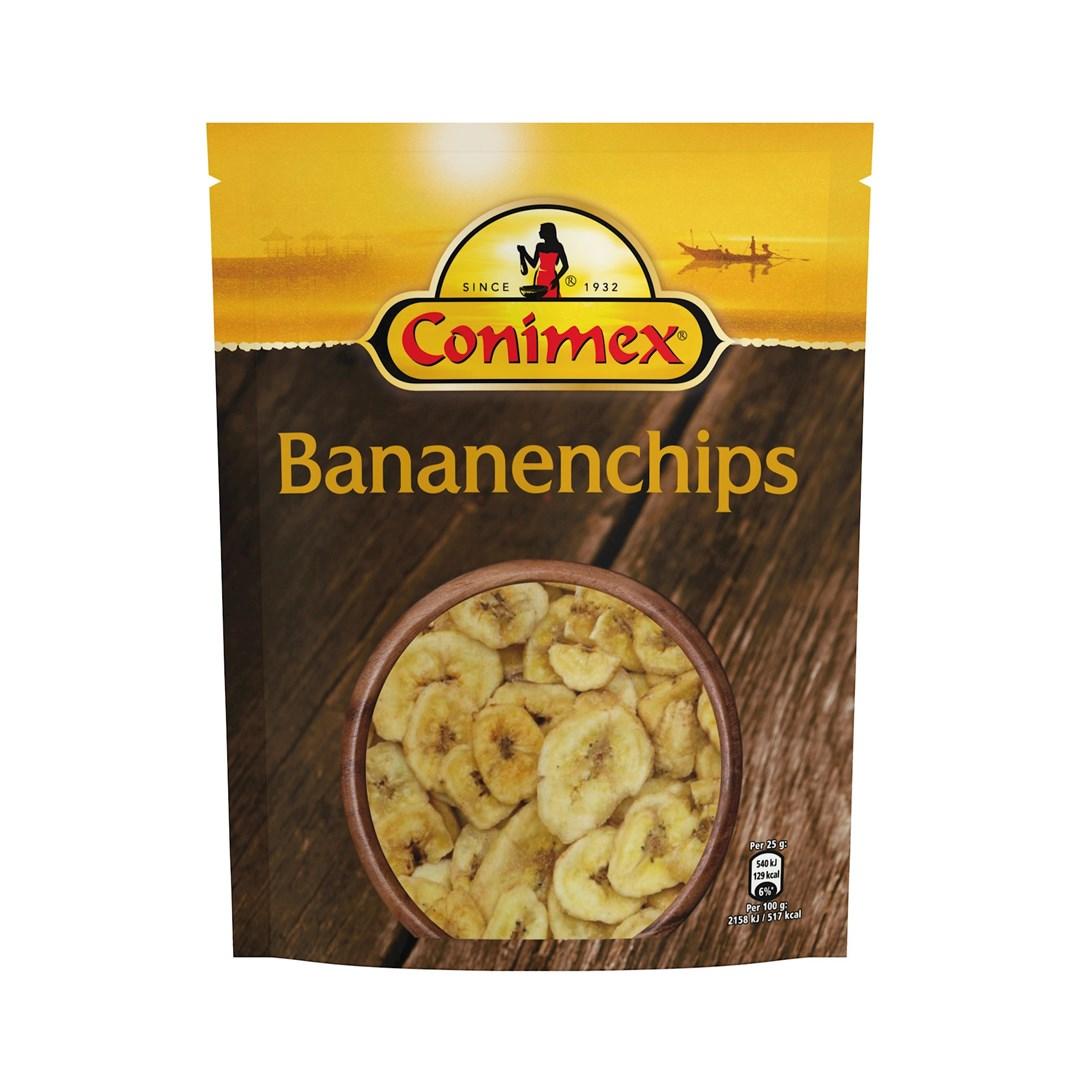 Productafbeelding Conimex Bananenchips 130G 12x