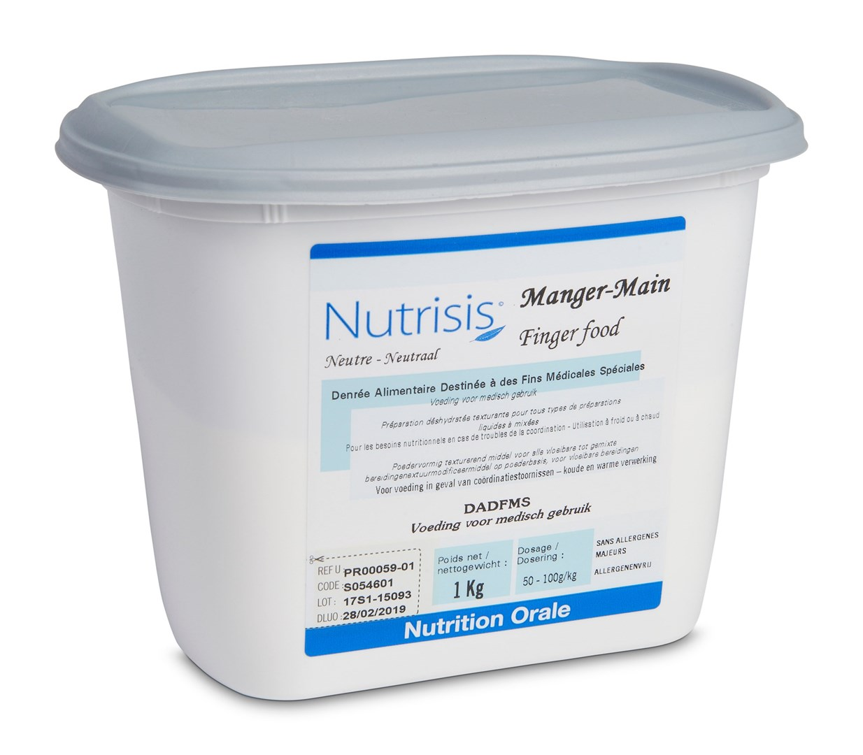 Productafbeelding Nutrisis Fingerfood mix 1kg