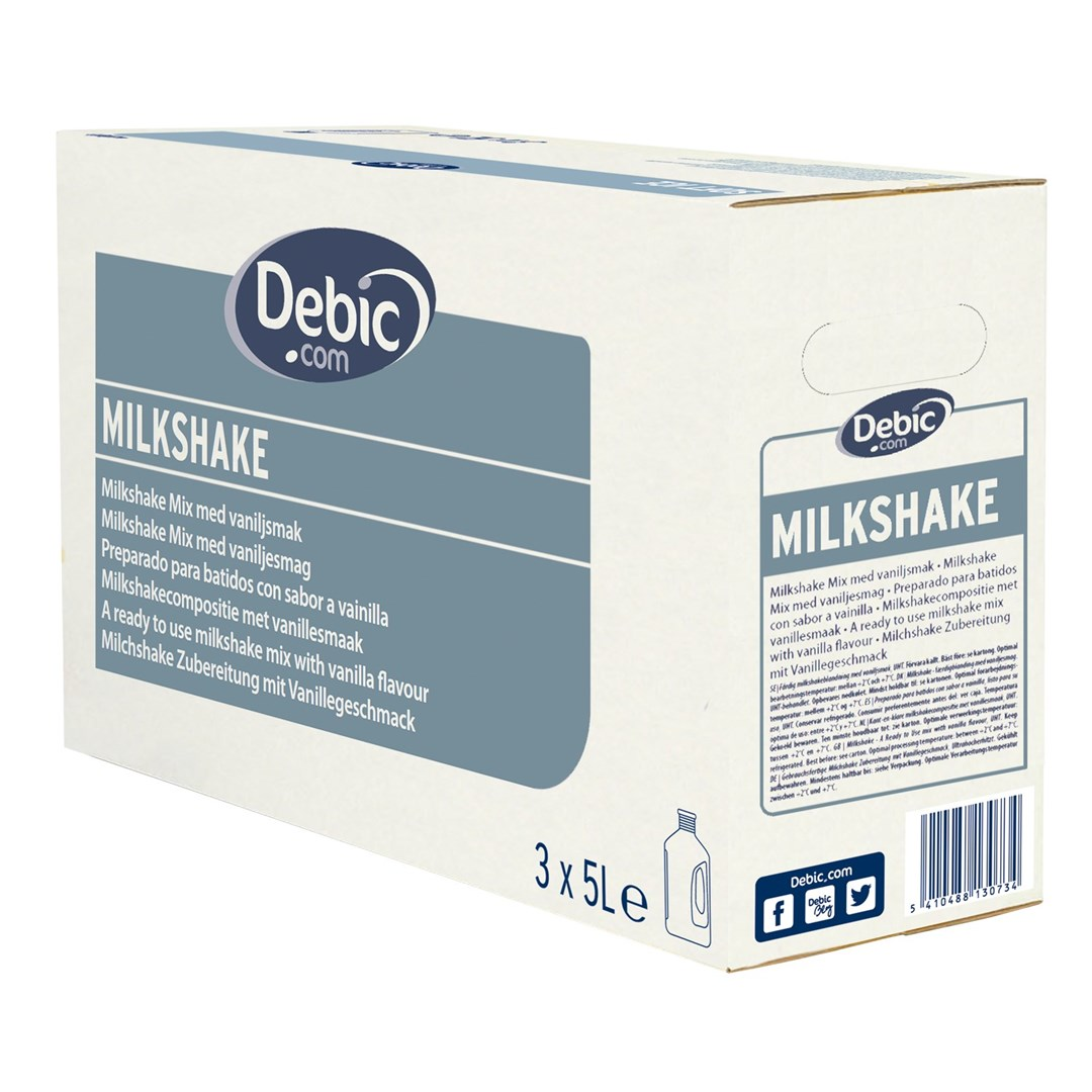 Productafbeelding Debic Milchshakemix Flüssig 2,5% MF
