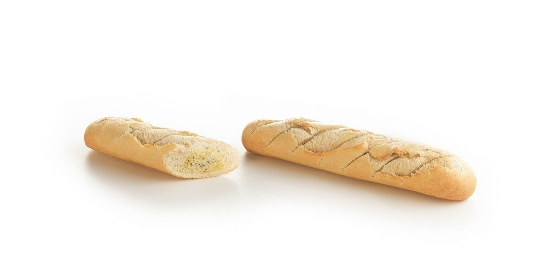 Productafbeelding DEMI-BAGUETTE WITH GARLIC BUTTER 175