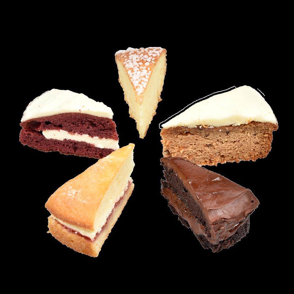 Productafbeelding Mini Cake Selection 5 x 12 puntjes