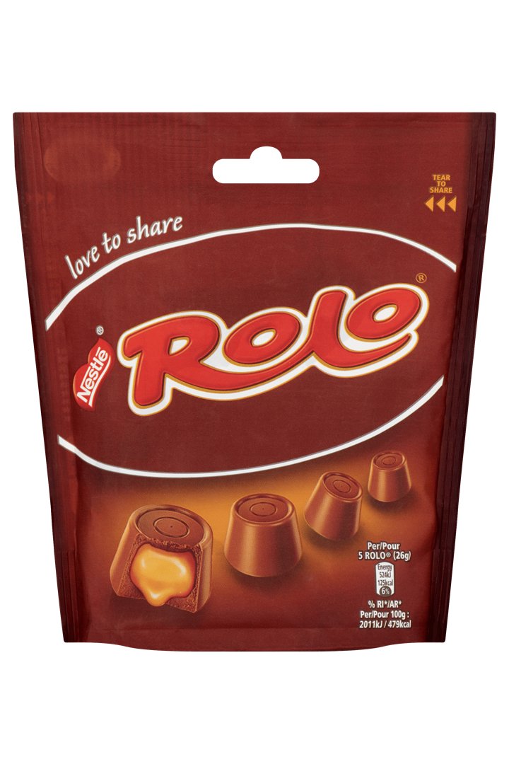 Productafbeelding NESTLE ROLO Chocolade 8x116g Pouch Bag