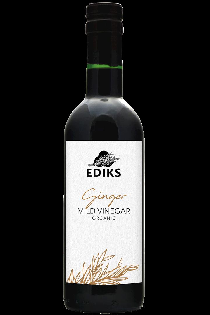 Productafbeelding Ediks milde azijn Gember 375 ml fles