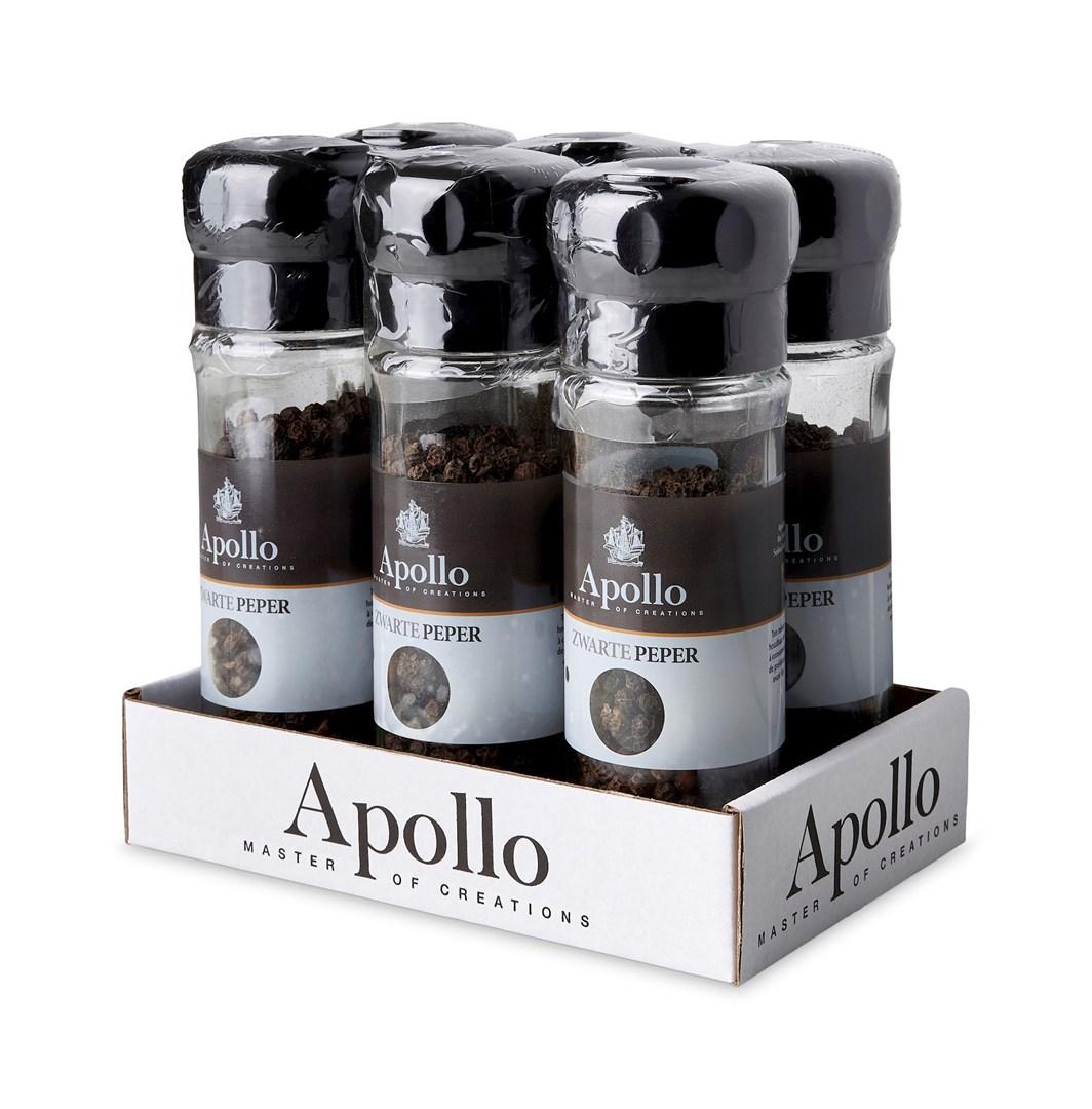 Productafbeelding Peper zwart strooimolen 45 g