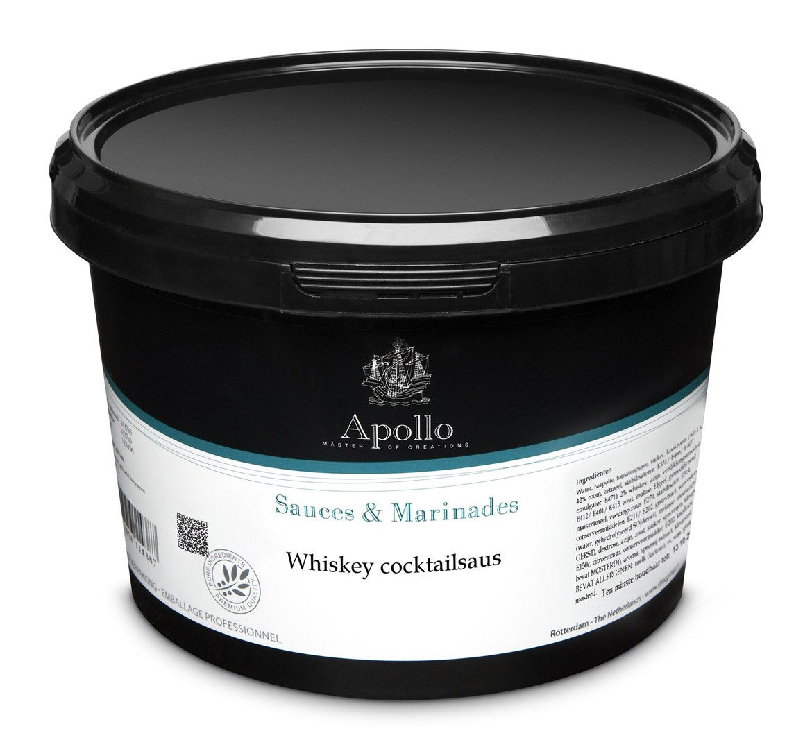 Productafbeelding Whiskey cocktailsaus 2,5 kg