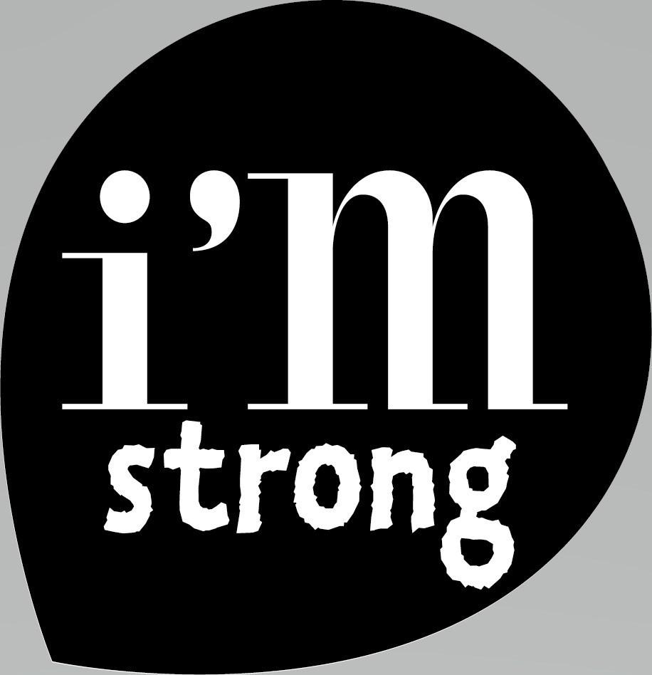 Merkafbeelding I'm Strong