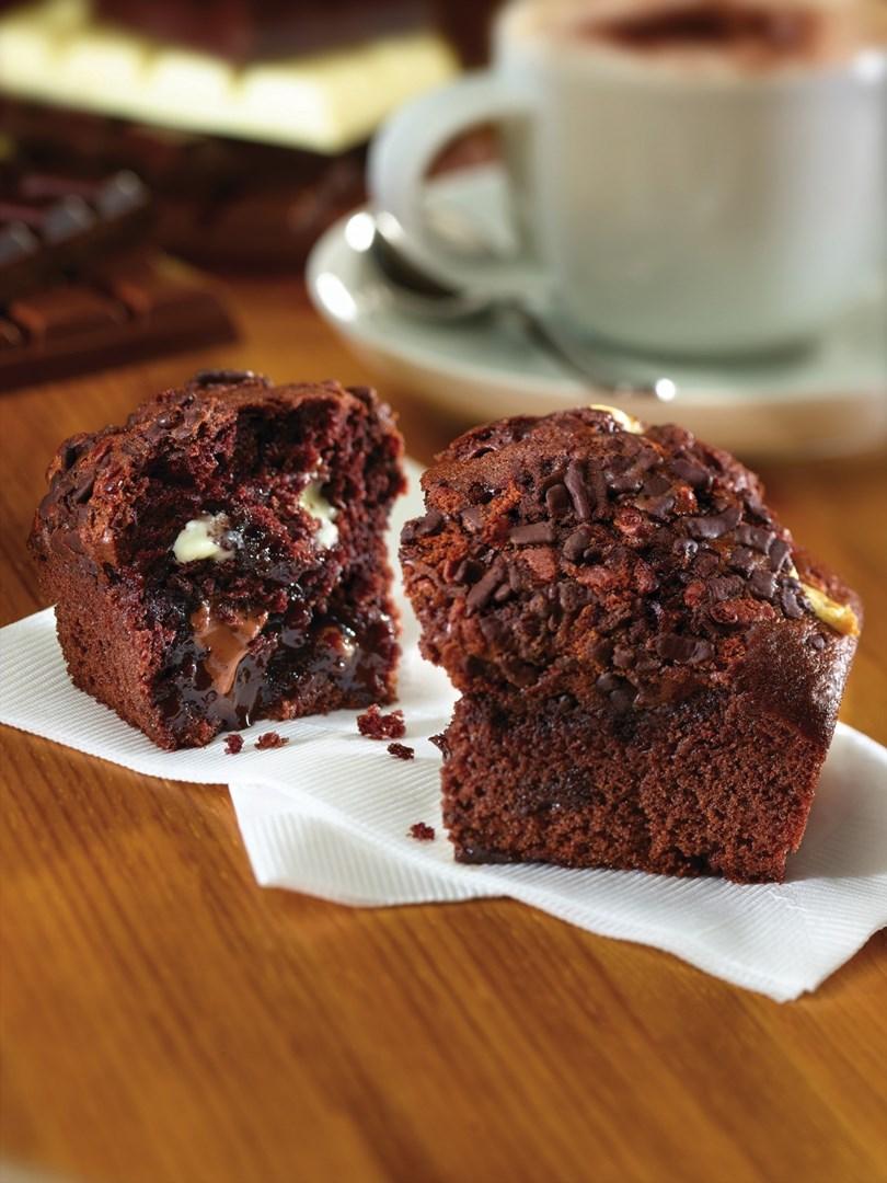 Productafbeelding Dawn Triple Chocolate Muffin 20 stuks doos
