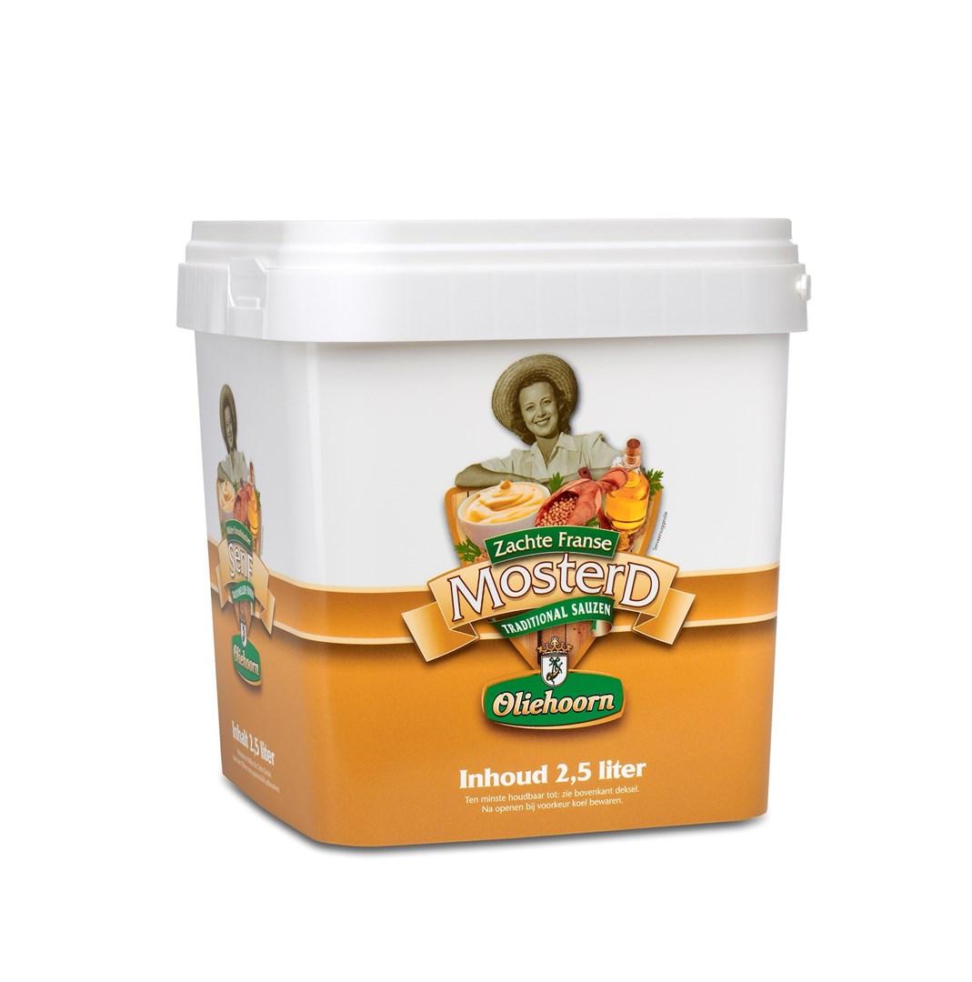 Productafbeelding Oliehoorn Mosterd 2,5 liter emmer