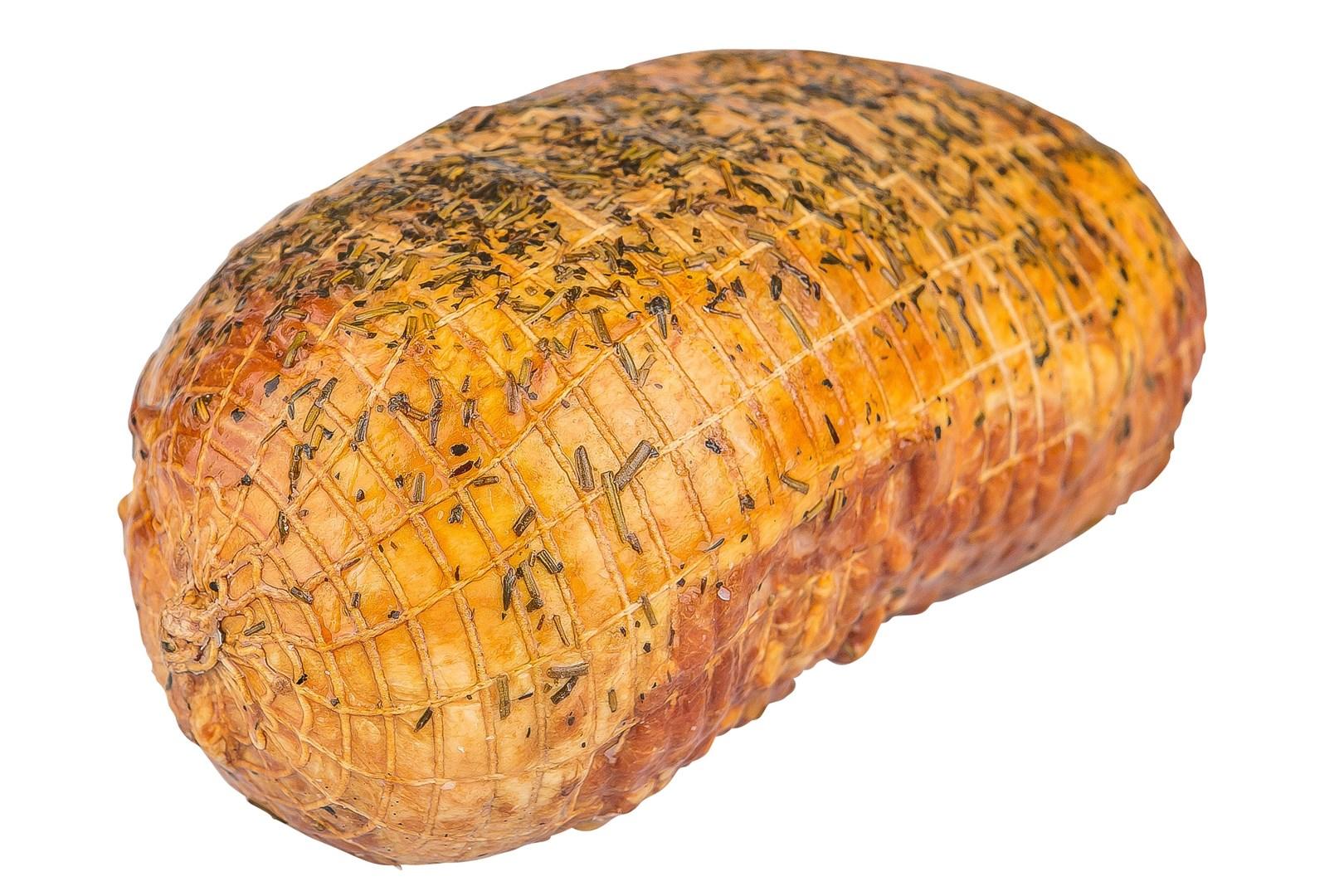 Productafbeelding Gekookte gerookte lamsham gekruid