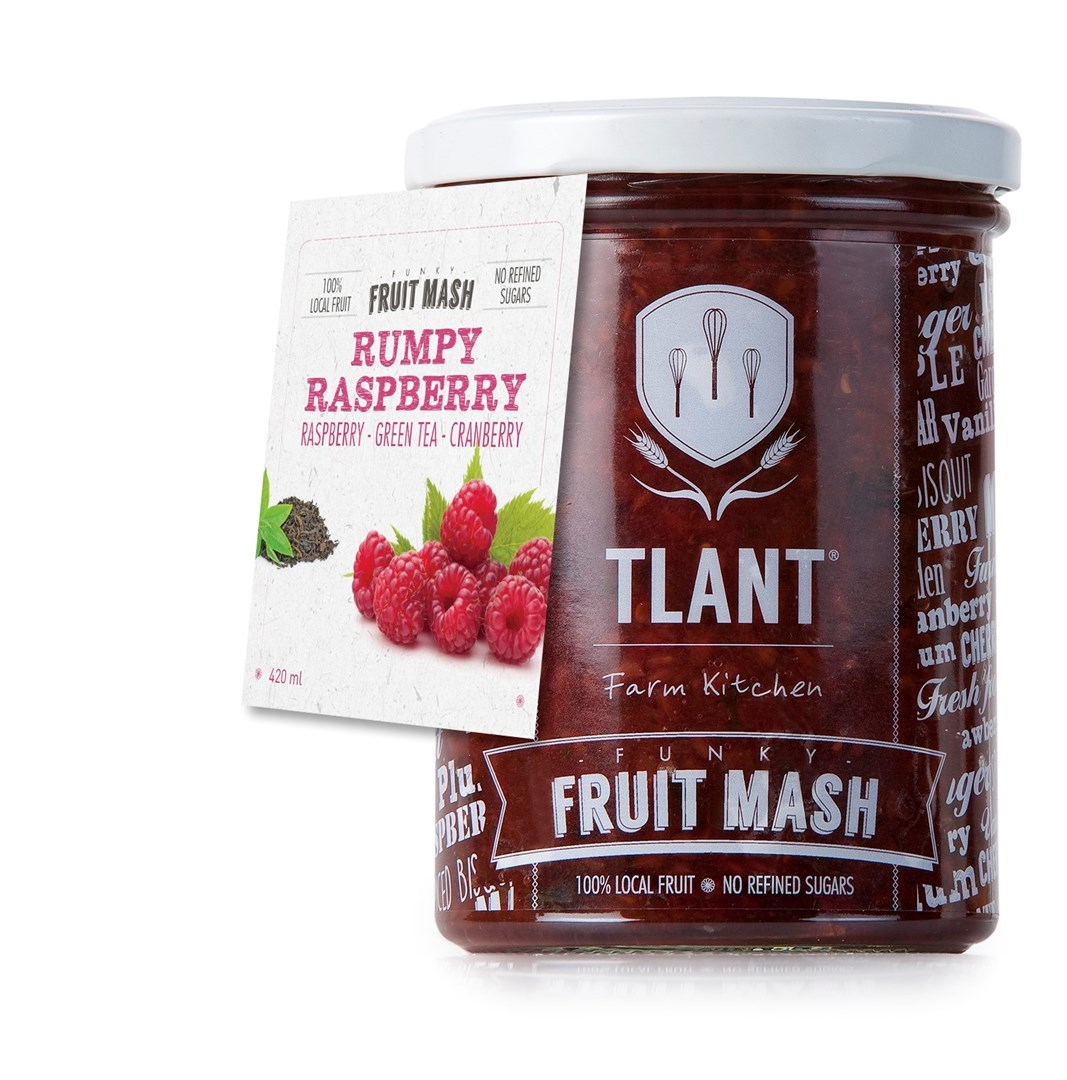 Productafbeelding TLANT Funky Fruit Mash Rumpy Raspberry 420ML