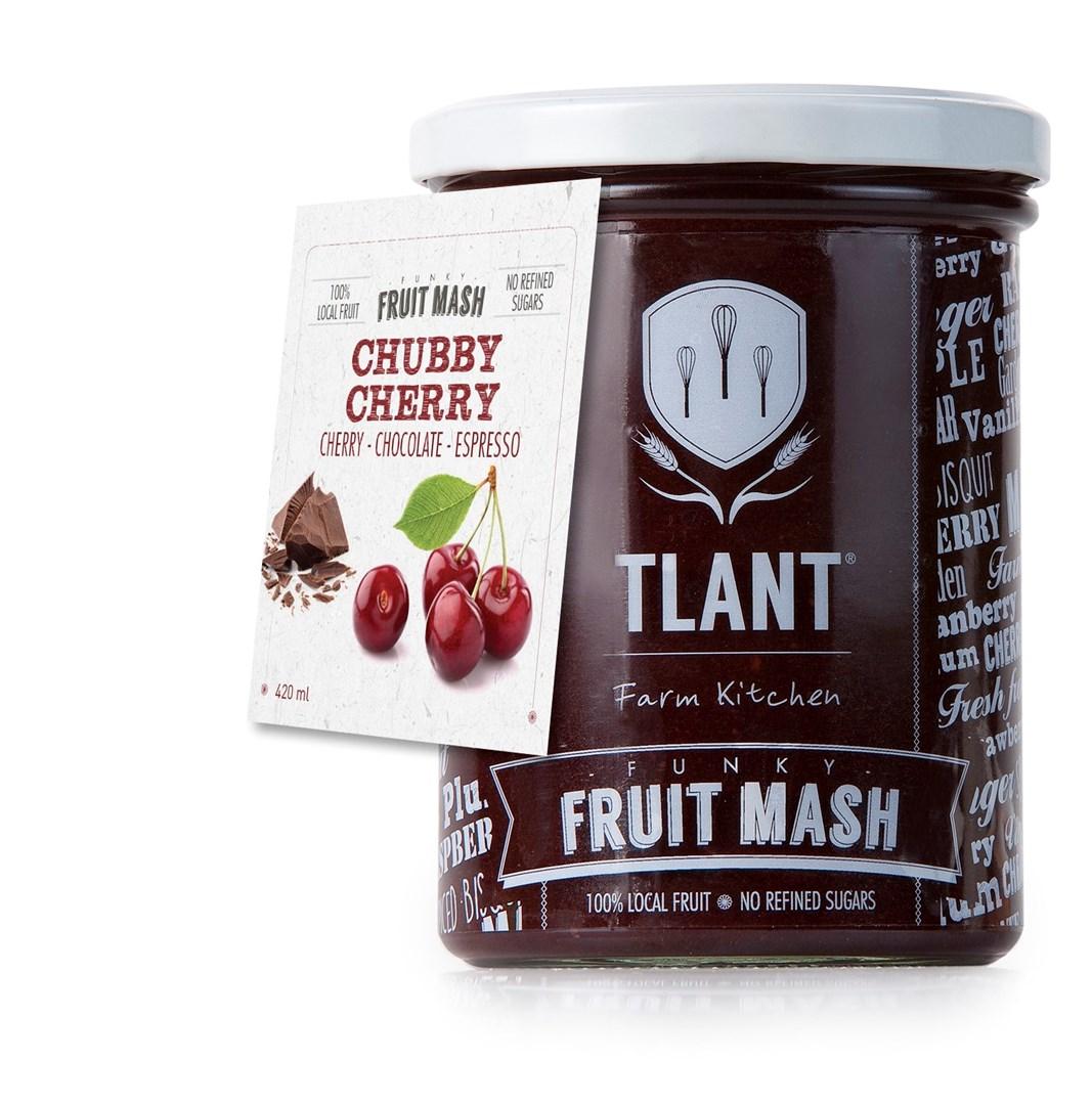 Productafbeelding TLANT Funky Fruit Mash Chubby Cherry 420ML