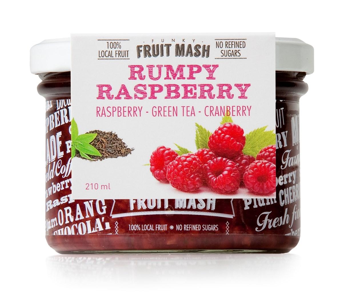 Productafbeelding TLANT Funky Fruit Mash Rumpy Raspberry 210ML