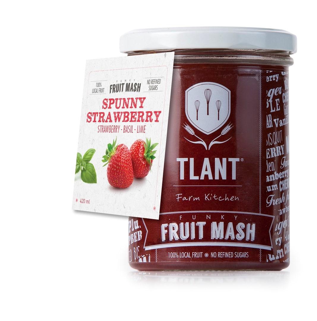 Productafbeelding TLANT Funky Fruit Mash Spunny Strawberry 420ML