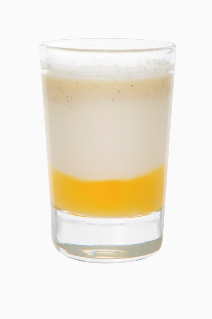 Productafbeelding Dessert glaasje Cheesecake ananas-choco echt glas