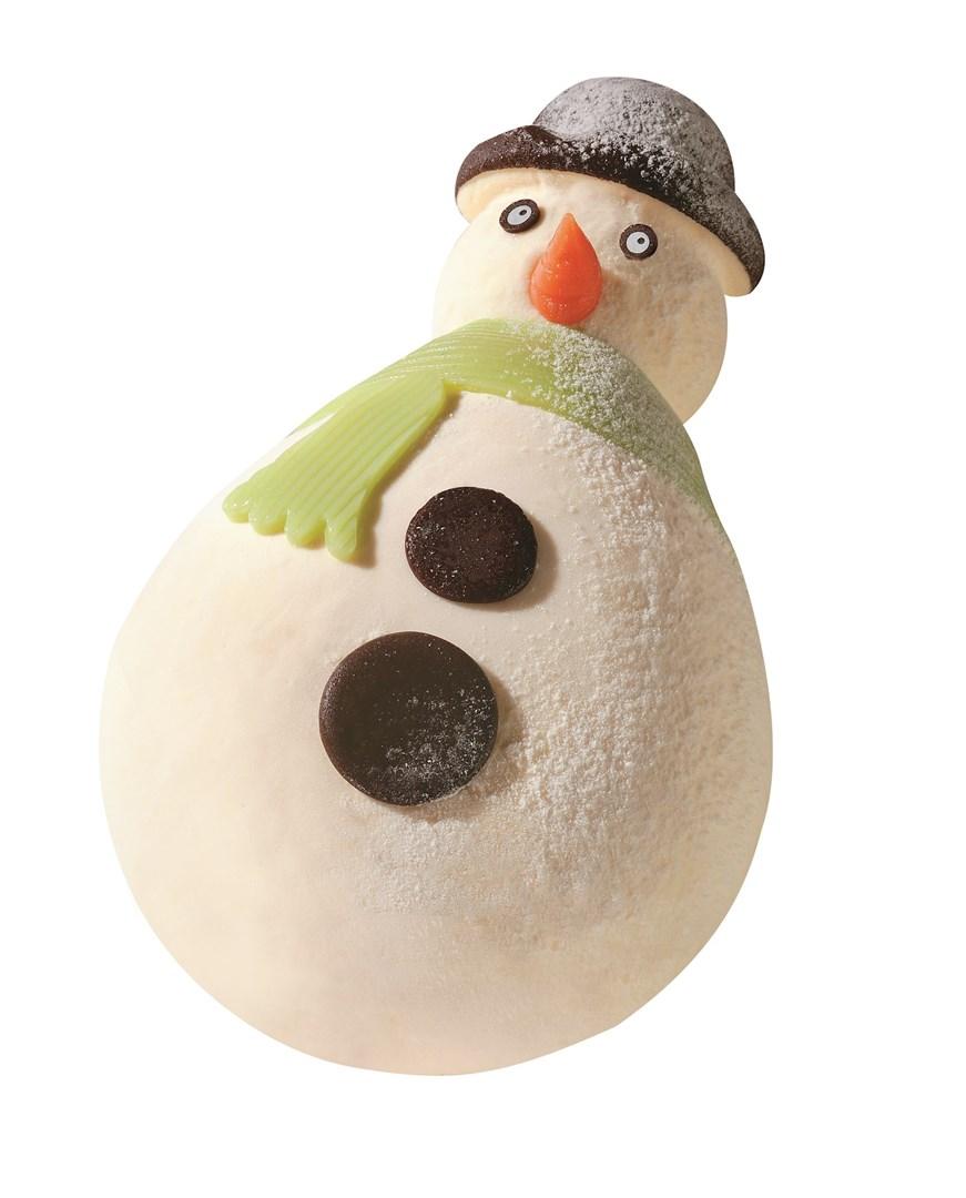 Productafbeelding Sneeuwman vanille en chocolade ijs